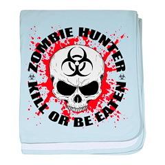 Zombie Hunter 3 baby blanket