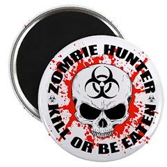 Zombie Hunter 3 Magnet