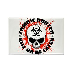 Zombie Hunter 3 Rectangle Magnet