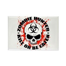 Zombie Hunter 3 Rectangle Magnet (10 pack)