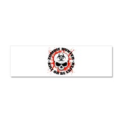 Zombie Hunter 3 Car Magnet 10 x 3