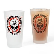 Zombie Hunter 3 Drinking Glass