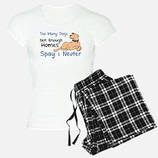 Too Many Dogs - Spay & Neuter Pajamas