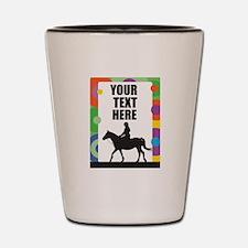 Horse Border Shot Glass