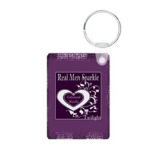 Real Men Sparkle (Edward) Keychains