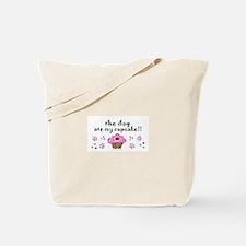 The Dog Ate My Cupcake Tote Bag