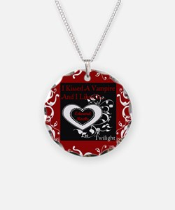 Kissed A Vampire Necklace