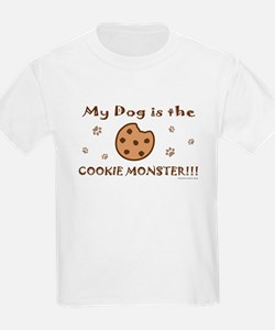 My Dog is the Cookie Monster T-Shirt