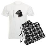 Black Lab Men's Light Pajamas