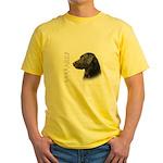 Black Lab Yellow T-Shirt