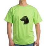 Black Lab Green T-Shirt