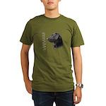 Black Lab Organic Men's T-Shirt (dark)