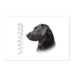 Black Lab Postcards (Package of 8)