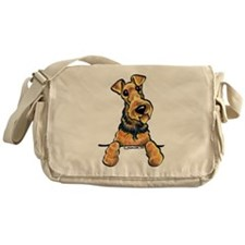 Airedale Terrier Lover Messenger Bag
