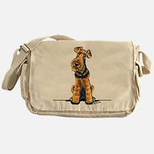 Airedale Welsh Terrier Messenger Bag