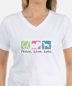 Peace, Love, Labs Shirt