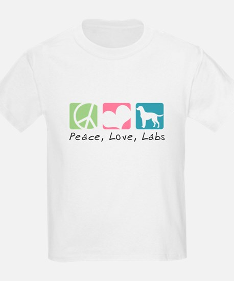 Peace, Love, Labs T-Shirt