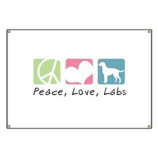 Peace, Love, Labs Banner