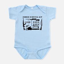 Zombie Survival Kit Infant Bodysuit