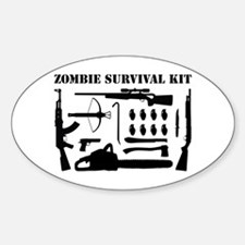 Zombie Survival Kit Decal