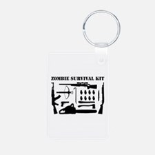 Zombie Survival Kit Keychains