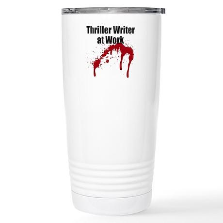 Thriller Writer Stainless Steel Travel Mug