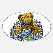 Bluebonnet Bear Decal