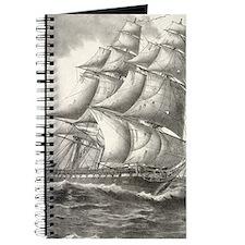 USS Constitution journal