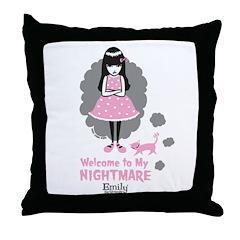 Nightmare Throw Pillow