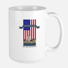 September 11th Ten Years Mug