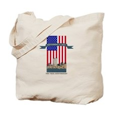 September 11th Ten Years Tote Bag