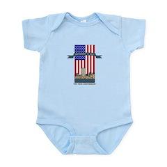 September 11th Ten Years Infant Bodysuit