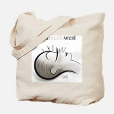 East Meets West Tote Bag