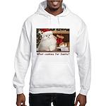 Cookies for Santa Hooded Sweatshirt