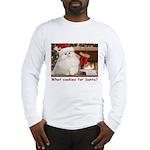 Cookies for Santa Long Sleeve T-Shirt