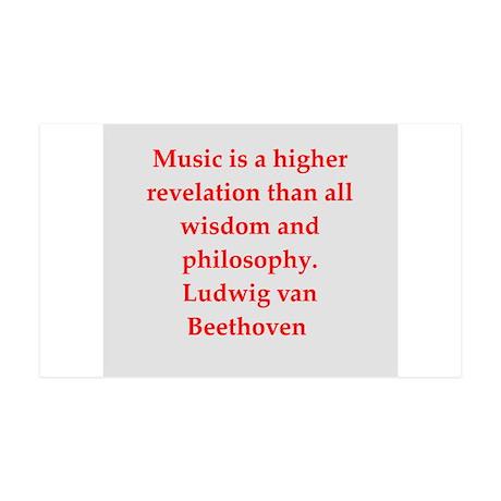 Ludwig van Beethoven 38.5 x 24.5 Wall Peel