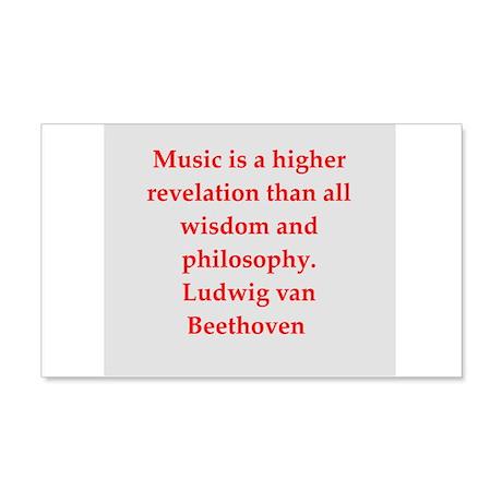 Ludwig van Beethoven 22x14 Wall Peel
