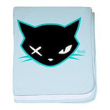 Cathead Miles baby blanket