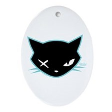 Cathead Miles Ornament (Oval)
