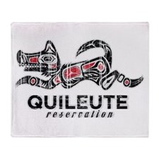 Quileute Reservation Throw Blanket