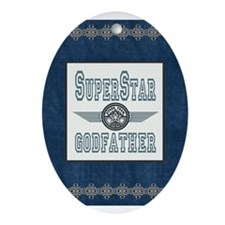 Superstar Godfather Ornament (Oval)
