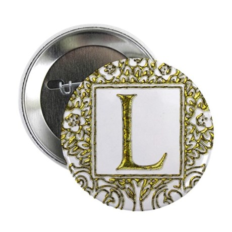 "Monogram L 2.25"" Button (100 pack)"
