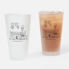 Love Hurts Drinking Glass