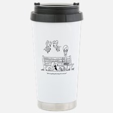 Love Hurts Stainless Steel Travel Mug
