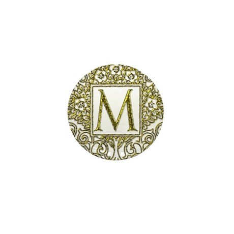 Monogram L Mini Button (100 pack)