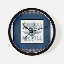 Superstar Grandpa Wall Clock