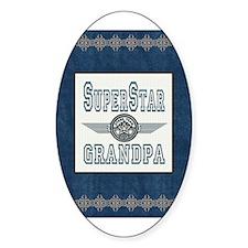 Superstar Grandpa Decal