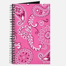Pink Ribbon Bandana Journal