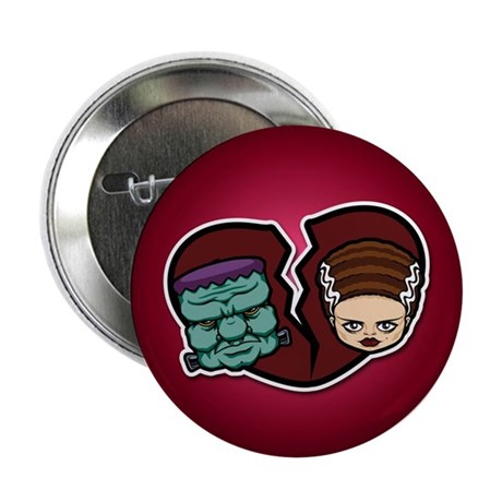 "Bride Hates Monster 2.25"" Button (10 pack)"