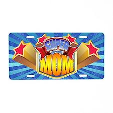 Super Mom Aluminum License Plate